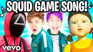 THE SQUID GAME SONG! 🎵 (Official LankyBox Music Video)