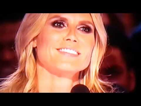 Sal Valentinetti: I Did It My Way Got golden buzzer from Heidi Klum