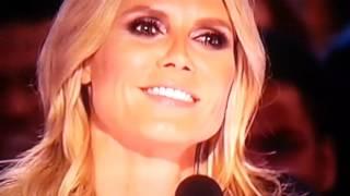 Sal Valentinetti I Did It My Way Got golden buzzer from Heidi Klum