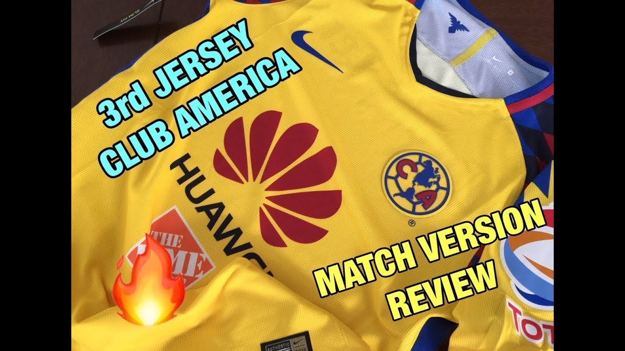 finest selection 0c147 8205f TERCER JERSEY CLUB AMERICA 2018 // MATCH VERSION // REVIEW