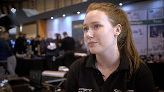 Jaguar Land Rover talks apprenticeships with EngTechNow at Skills Show 2014