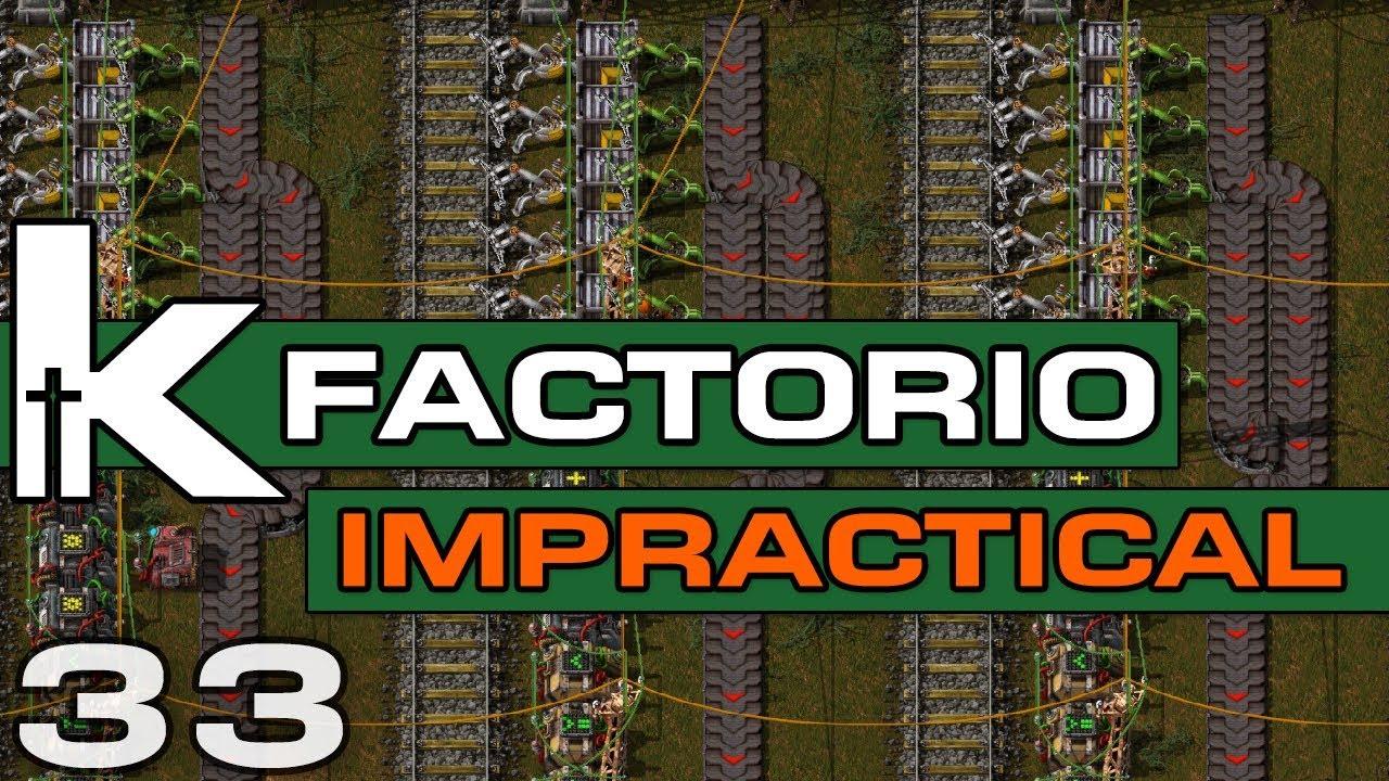 Factorio 0 17   Impractical Ep 33   Purple Planning   Let's Play Factorio