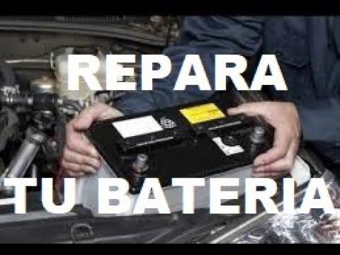 Como Reparar Una Bateria De Carro De La Manera Mas Facil