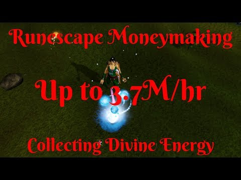 Up to 3.7m/hr-Skilling-All Levels-Collecting divine energies