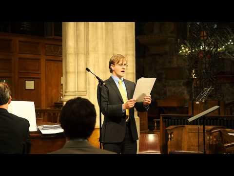 Abendempfindung, Mozart K.523 - City Music Services Concert, London