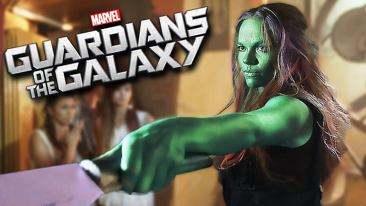 Guardians of the Galaxy BAR FIGHT - 'Hooked on a Feeling' Music Video #1