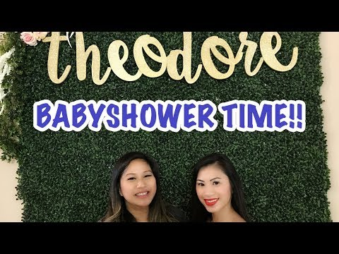 SURPRISE BABY SHOWER! | GREENERY THEME/ RUSTIC WOOD | TIFF TIME | OMG IT'S TIFFANY