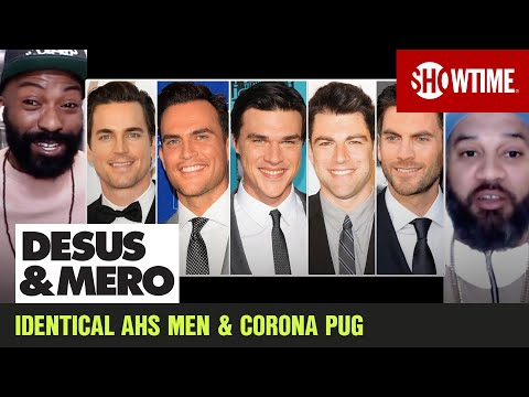 Winston the Corona Pug & Identical White Men of AHS | DESUS & MERO | SHOWTIME from YouTube · Duration:  15 minutes 35 seconds