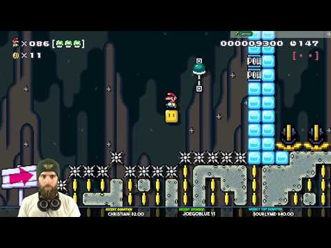 Super Mario Maker / Donkey Kong Country 2 / Mario Kart 8 Deluxe [LIVE]