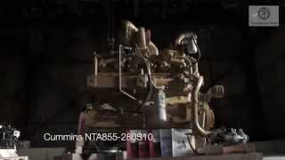 Двигатель Cummins NTA855-C280S10 Евро-2