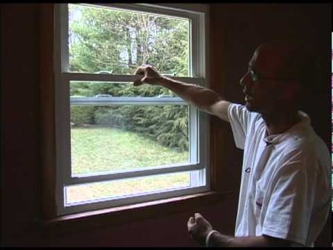 Demo of harvey double hung window youtube for Harvey replacement windows