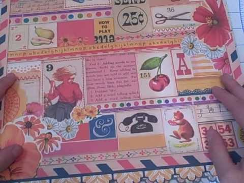 Hobby Lobby Scrapbook Paper Haul Youtube