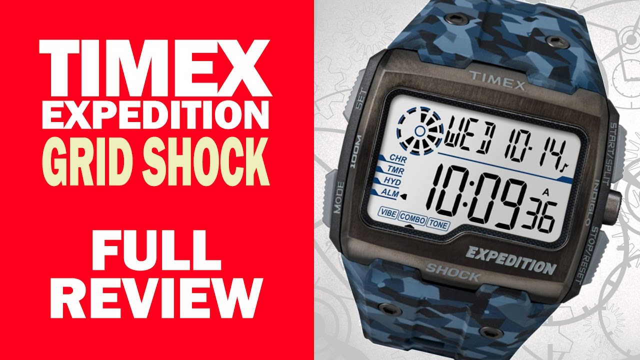 193b92ffe Timex Expedition Gridshock - TW4B07100 - Full Review - I Review Crap! -  YouTube