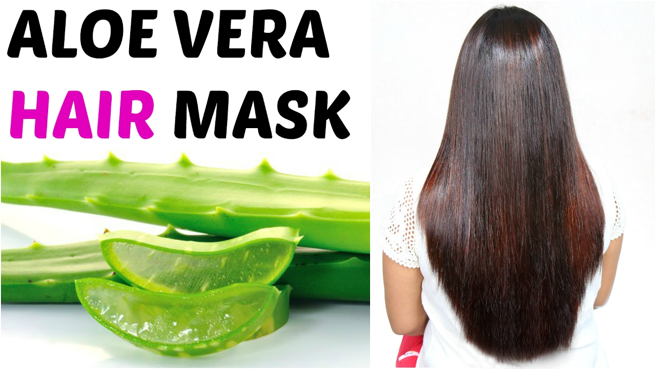 ALOE VERA Hair Mask - How To Get Long, Silky, Shiny Hair  ShrutiArjunAnand