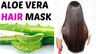 ALOE VERA Hair Mask - How To Get Long, Silky, Shiny Hair | ShrutiArjunAnand thumbnail