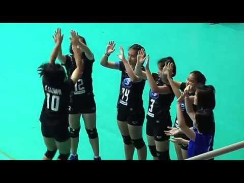 SMM 12th Asian Est Cola Women's U17 Volleyball Championship รอบรอง ระหว่าง ญี่ปุ่น vs ไทย