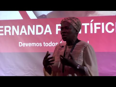 We should all speak forro | Fernanda Pontifice | TEDxSãoTomé