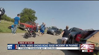 Viral video shows road rage incident