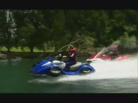 50 mph Quadski converts from Jetski to ATV in five seconds  YouTube