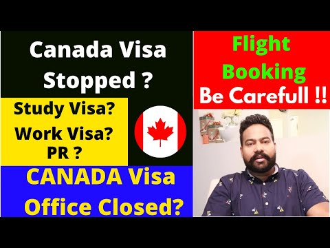 Canada Visa Offices And Borders Are Now Closed? In Hindi By Canadian Shaan