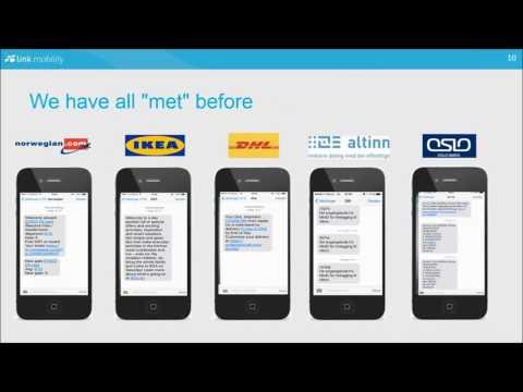 Selskapspresentasjon med Link Mobility Group