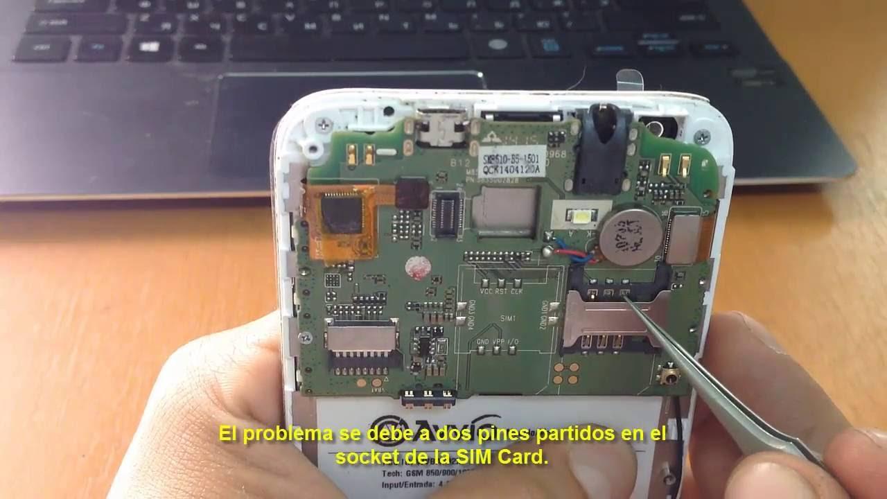 0d0ee0354b8 Solución celular no detecta SIM card -- -aparece mensaje