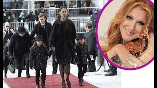 14 terrible secrets are hidden about the kids Celine Dion
