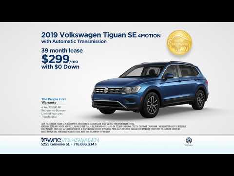 Save BIG On A 2019 VW Tiguan At Towne