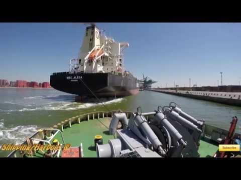 Diesel Engine 7200hp | Tugboat - Assisting Msc Alexa