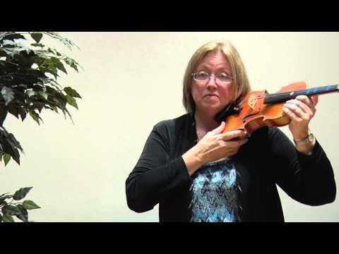 Violin Lesson: Using Tapes and Stickers on the Violin
