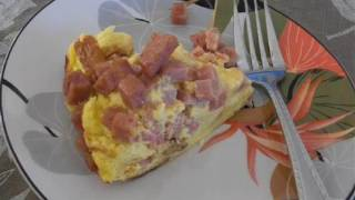 Spam Breakfast Bake