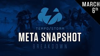 Hearthstone Metasnapshot Breakdown: March 6th 2017