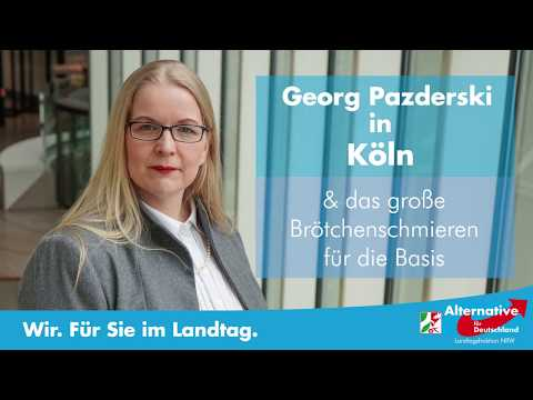 ++ AfD ++ Georg Pazderski in Köln zu Besuch - und wir machen Brötchen!
