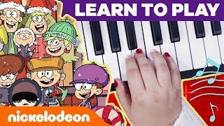 Loud House Holiday Piano Lessons + BONUS School of Rock Jingle Bells | #MusicMonday