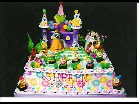 Kue Ulang Tahun Princess Youtube