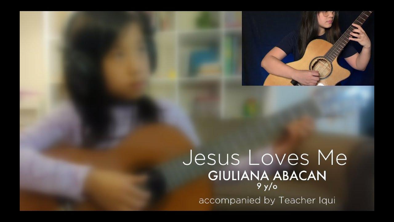 Jesus Loves Me (Christian Hymn) | Giuliana Abacan x Iqui Vinculado