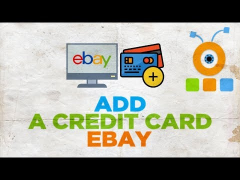 How To Add Credit Card To Ebay Account Youtube