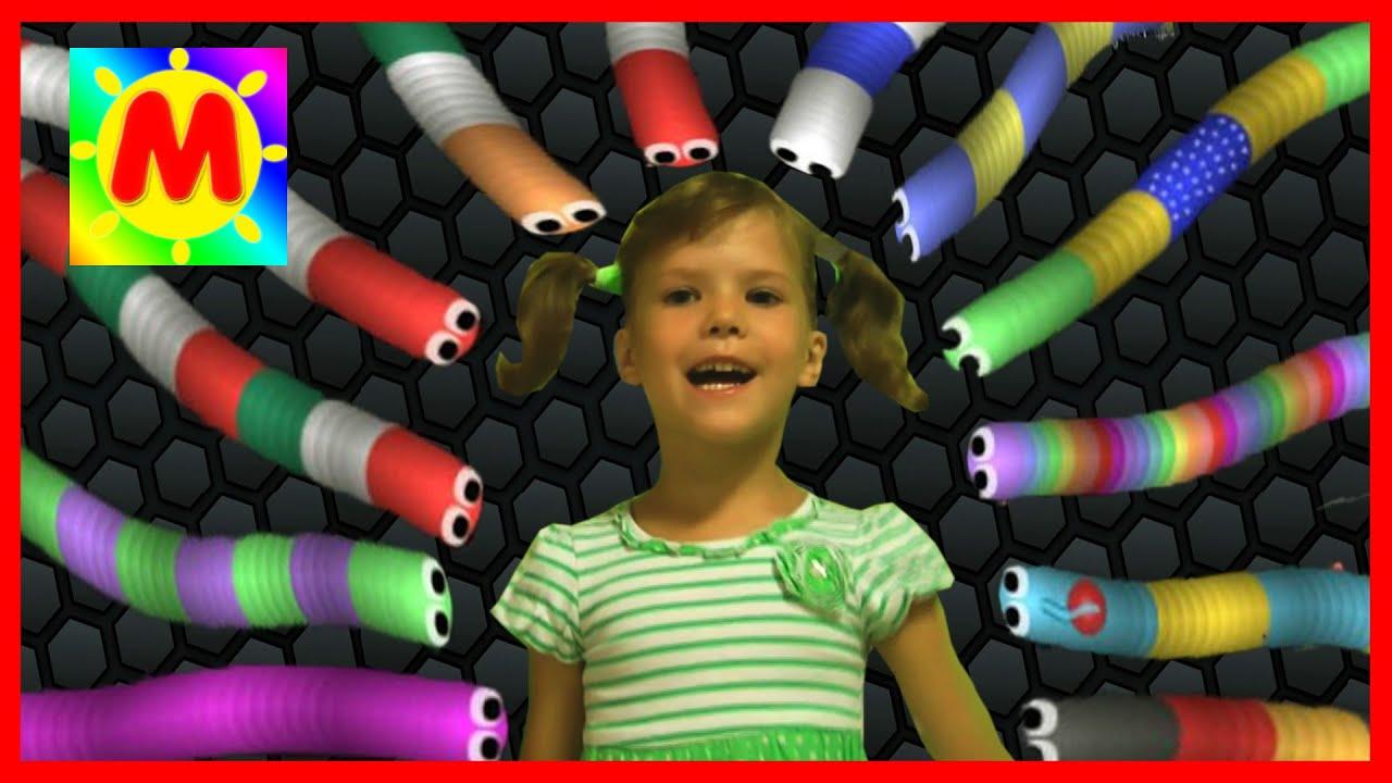 Игры для девочек червячок slither io