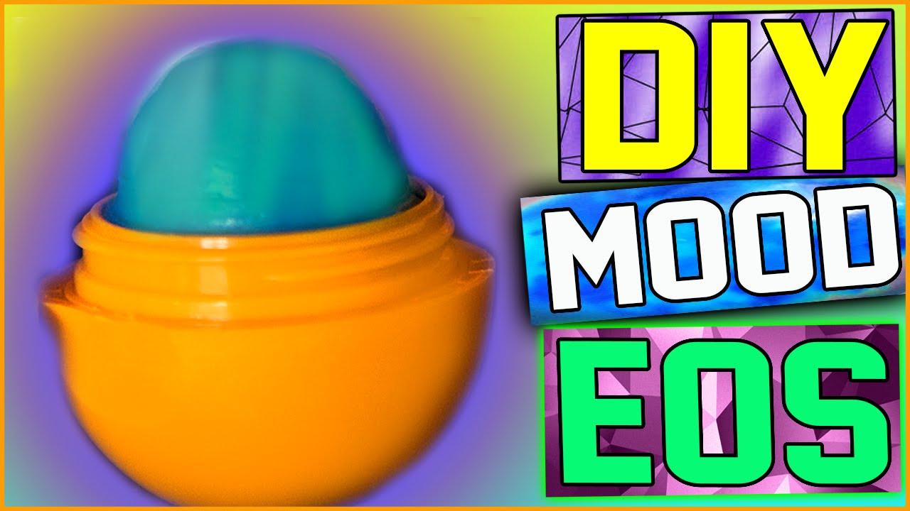 DIY Mood Changing EOS Lip Balm! Color Changing Lip Balm ...