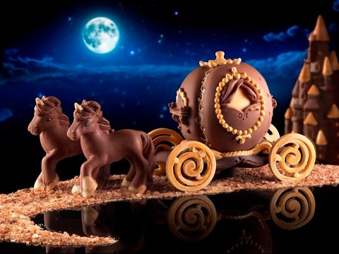 Come fare carrozza di cioccolato step by step video you for Come costruire una carrozza