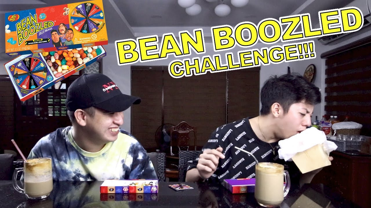 BEAN BOOZLED CHALLENGE WITH MY VIDEOGRAPHER!! (UNG FANGETT NUNG LAHSUHH)   Shawn Castro