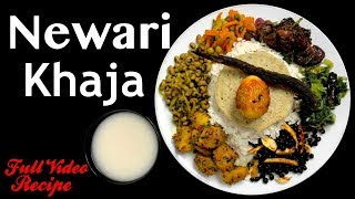 Newari Khaja Set | Samaye Baji | Full Video Recipe - Yummy Food World🍴121