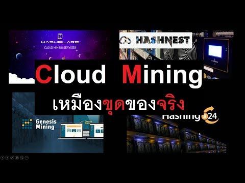 [สาระ] เหมืองขุดของจริงอย่าง Genesis Mining, Hashnest ขุดแบบ Cloud Mining เป็นอย่างไร ข้อดี-ข้อเสีย