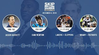 Jason Garrett, Cam Newton, Lakers + Clippers, Brady + Patriots | UNDISPUTED Audio Podcast