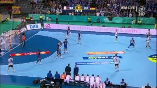 HANDBALL WM 2013/LIVE/[HD]/DEUTSCHLAND - FRANKREICH/GERMANY - FRANCE/32:30