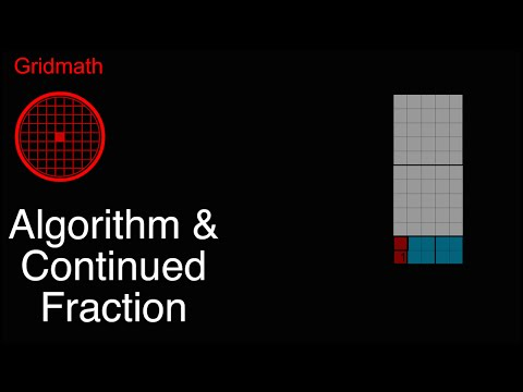 Algorithm and Continued Fraction