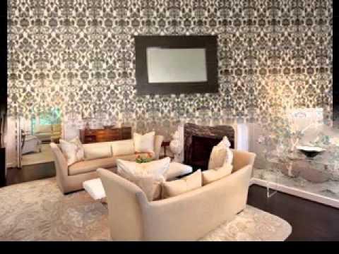 Wallpaper Decorating Ideas In Living Room