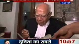 Exclusive interview with 'Angry Youngman'  Ram Jethmalani