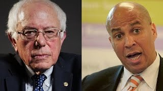 BERNIE SANDERS SHOWS CORY BOOKER THE LIGHT ON PHARMA BILL!