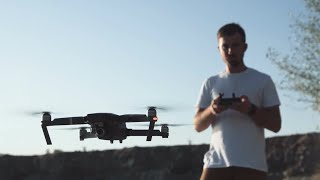 Man Using A Drone Stock Video